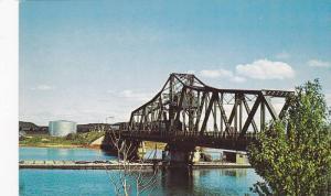 Bridge at Little Current, Manitoulin Island,  Ontario,  Canada,  40-60s