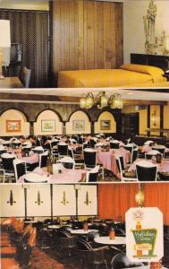 CLEMSON, South Carolina, 40-60s; 3-Views, Holiday Inn