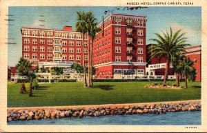 Texas Corpus Christi Nueces Hotel 1943 Curteich