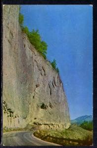 Overhanging Cliff,Just North of Tower Fall,Yellowstone National Park BIN