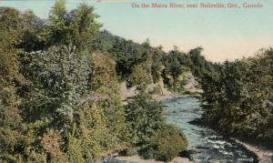 BELLEVILLE , Ontario , 1914 ; On the Moira River