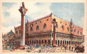 Vintage Postcard 1910s Venezia Palazzo Ducale Ducal Palace Herzogs Palast