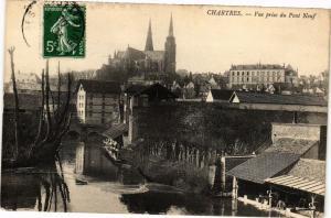 CPA Chartres-Vue prise du Pont Neuf (43033)