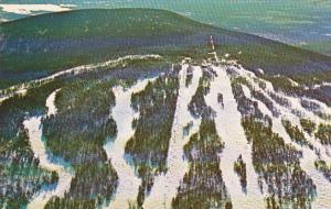 Aerial view of Stratton Mountain Ski Area,  Stratton,  Vermont,  PU_1984