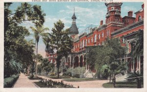 TAMPA, Florida, 1910-20s; Tampa Bay Hotel Entrance & Grounds