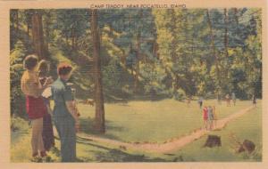 POCATELLO, Idaho, 30-40s; Camp Teddy
