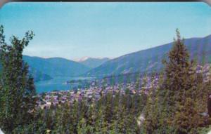 Canada Kokanee Glacier Looking North On Kootenay Lake