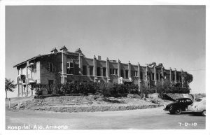 RPPC Hospital AJO Arizona c1940s Vintage Photo Postcard