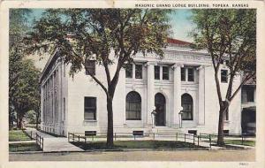 Exterior, Masonic Grand Lodge Building,  Topeka,  Kansas, PU-00-10s