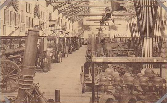 Belgium Brussels Hall des Allies 1914-1918 Musee Royal de l'Armee