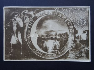 The Legend of The Wiltshire Moonrakers RAKE DADDY RAKE c1920's Old Postcard