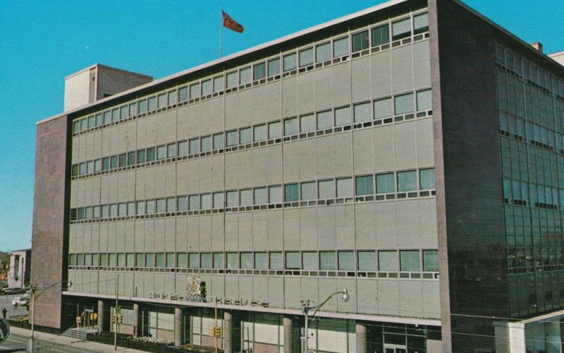 REGINA , Saskatchewan , Canada , 50-60s ; New Post Office