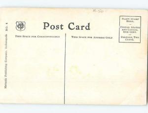 Unused Divided-Back COURTHOUSE SCENE Indianapolis Indiana IN d2746@