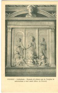 Italy, Fiesole Cattedrale Dossale di altare, unused Postcard