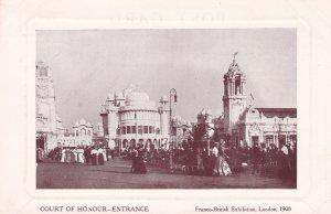 Franco-British Exhibition, LONDON , 1908 ; Court of Honor-Entrance