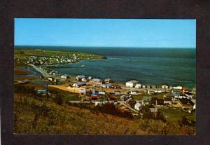 QC Riviere aux Renards Gaspe Nord Quebec Canada Carte Postale Postcard