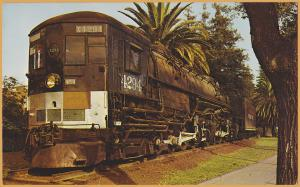 Sacramento, Calif., Cab Forward, Last Steam Locomotive purchased by Southern Pac