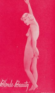 Stripper Pin-Up Girl  , 1940-50s : #7