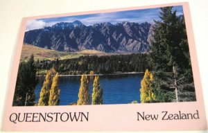 New Zealand Queenstown - posted 1989