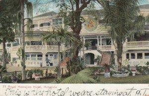 HONOLULU , Hawaii , 1912 ; Royal Hawaiian Hotel