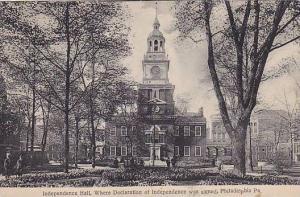Exterior,Independence Hall,Philadelphia Pennsylvania,PU-1908