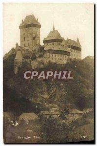 Postcard Old Karluv Tyn