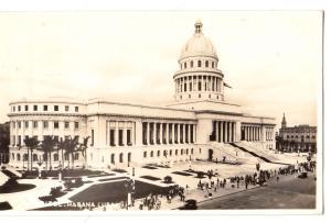 RPPC, Capitol, Havana Cuba