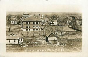 RPPC Birds Eye View Reinbeck Iowa IA 1910
