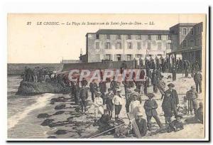 The Old Post CROISIC CARTE The sanatorium beach of Saint John of God