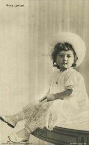 Prince Lennart, Duke of Småland (1911) Sweden Royalty RPPC Postcard