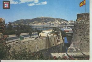 Postal 011504: Vista murallas de Ceuta