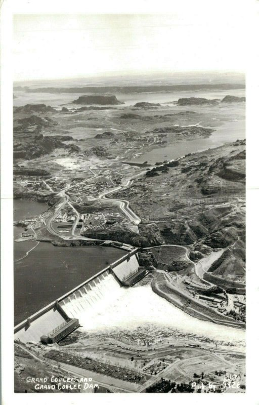 USA - Grand Coulee And Grand Coulee Dam 03.32