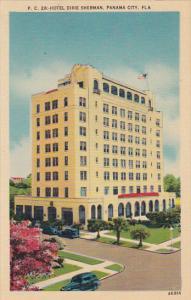 Hotel Dixie Sherman, Panama City, Florida, 30-40s