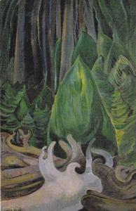 Painting: Sea Drift at the Edge of the Forest, Artist Emily Carr, Art Galle...