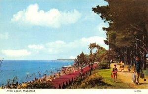 Vintage Dorset Postcard, Avon Beach, Mudeford FO2