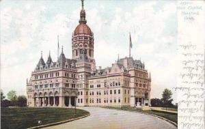 Connecticut Hartford State Capitol 1907