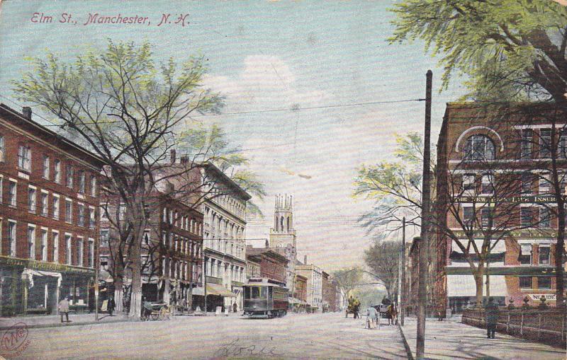 Elm Street, Manchester, New Hampshire, PU-1906