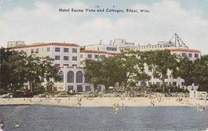 Mississippi Biloxi Hotel Buena Vista & Cottages