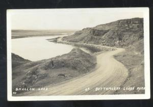 RPPC ROSWELL NEW MEXICO BTTOMLESS LAKES PARK REAL PHOTO POSTCARD N.M