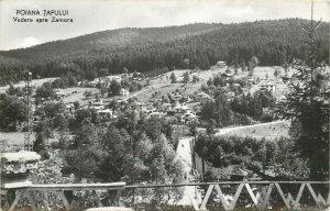 Romania Poiana tapului vedere spre zamora Postcard