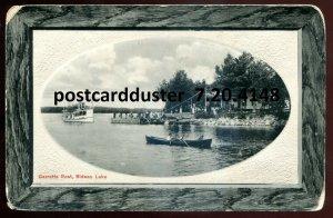 4148 - RIDEAU LAKE Ontario 1911 Garretts Rest. Steamer by Kerfoot