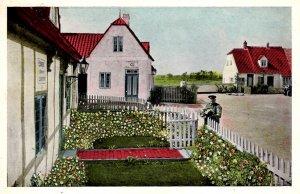 Scarborough, Maine - The Danish Village on Boston Road - c1930