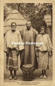 French Equatorial Africa, Femmes Plateau, Lippenneger (1920s)