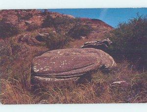 Pre-1980 NATURE SCENE Palo Duro Canyon - Near Amarillo Texas TX AD2962