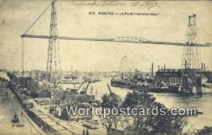 Nantes, France, Carte, Postcard Le Pont Transbordeur Nantes Le Pont Transbordeur