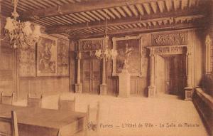 Belgium Furnes L'Hotel de Ville La Salle de Retraite