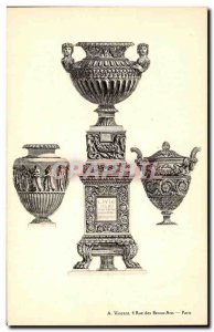 Postcard Old Vase Antiquity