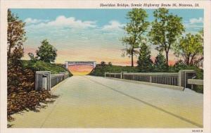 Illinois Nauvoo Sheridan Bridge Scenic Highway Route 96