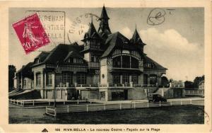 CPA RIVA-BELLA Le nouveau Casino Facade sur la Plage (422502)