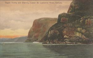 CANADA, 1900-1910's; Capes Trinity And Eternity, Lower St. Lawrence River